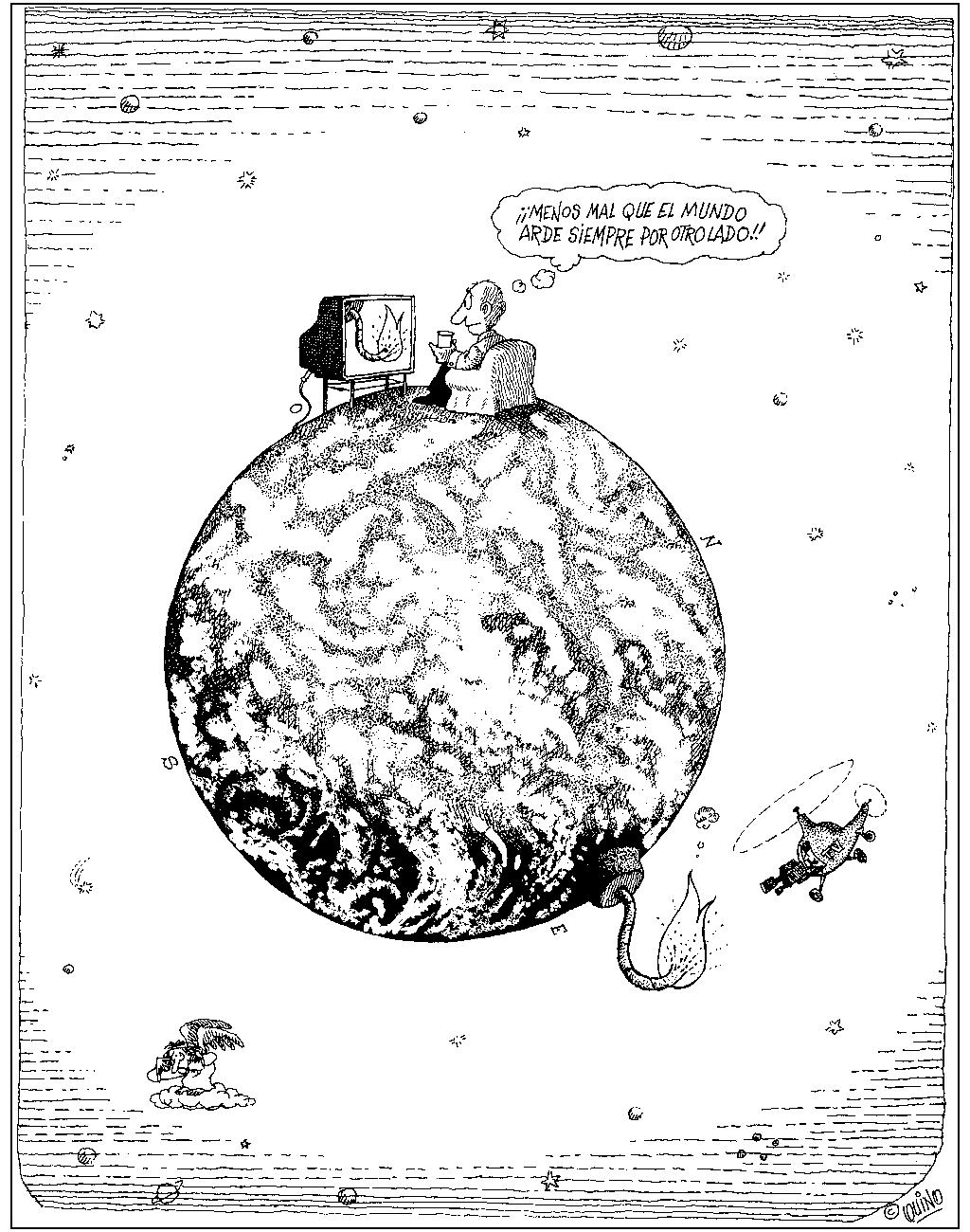 Quino, planeta a punto de explotar