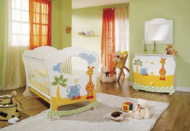 Idées peinture chambre bébé