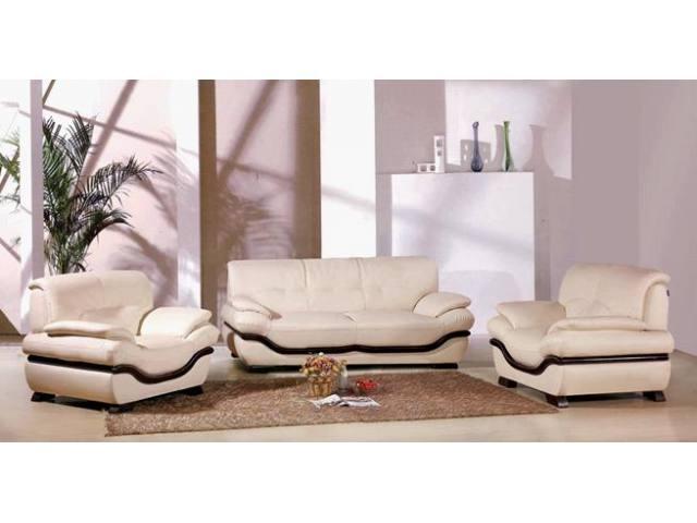 Modern Leather Sofa Furniture Decor
