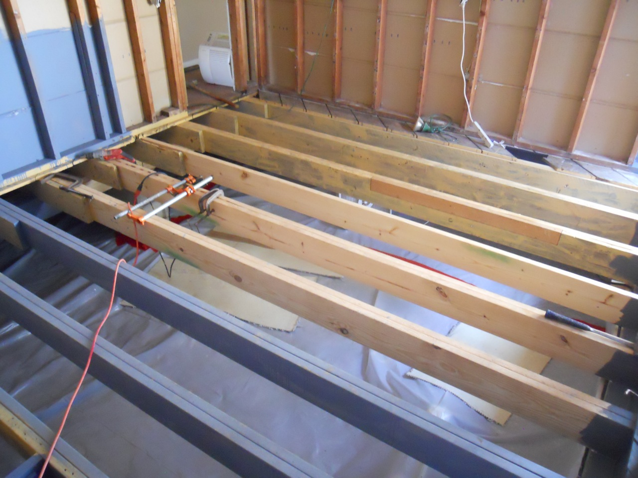 Bathroom Floor Joist Spacing : Square feet vapor barrier check subfloor