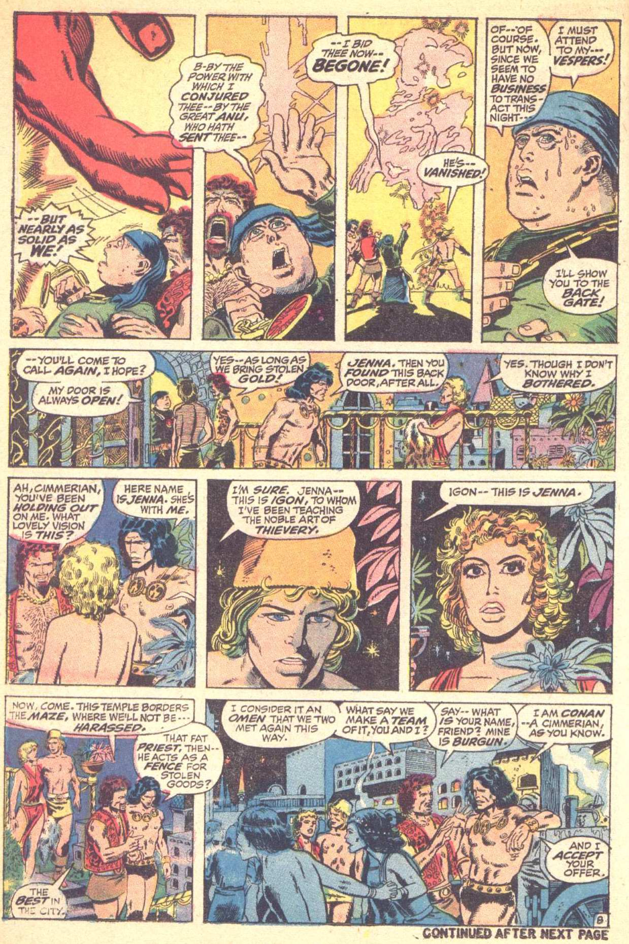Conan the Barbarian (1970) Issue #10 #22 - English 9
