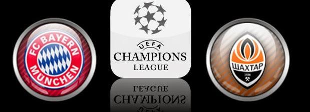 Bayern Munchen Vs Shakhtar Donetsk