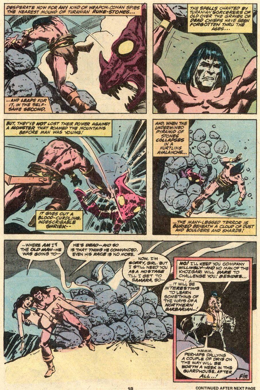 Conan the Barbarian (1970) Issue #87 #99 - English 13