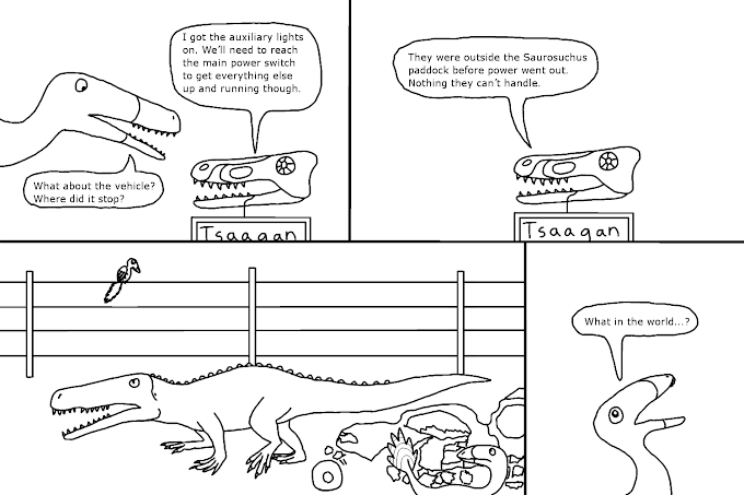 Triassic Park Page VIII