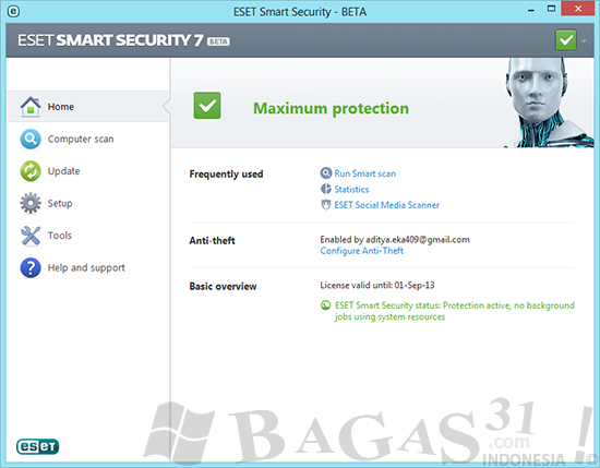 ESET Smart Security 7 Beta Full License 2