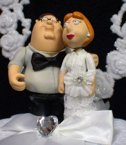 Family Guy Wedding Cake Topper