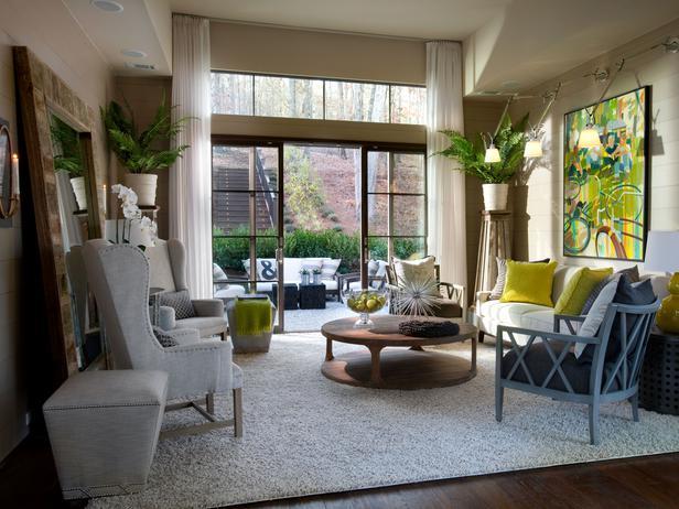 HGTV Green Home 2012: Living Room