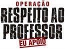 OPERAÇÃO RESPEITO AO PROFESSOR