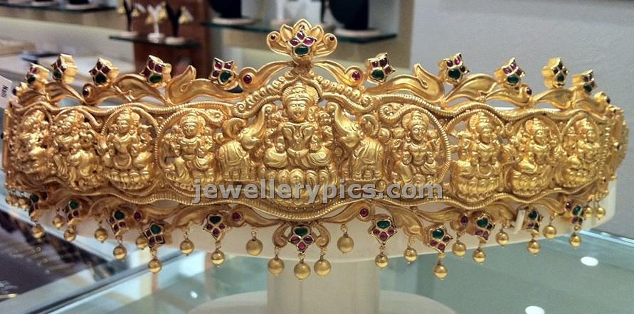 nakshi vaddanam gold design