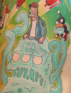 Futurama Tattoos - Cartoon Tattoos