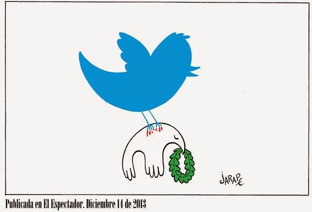 Tweets contra la paz