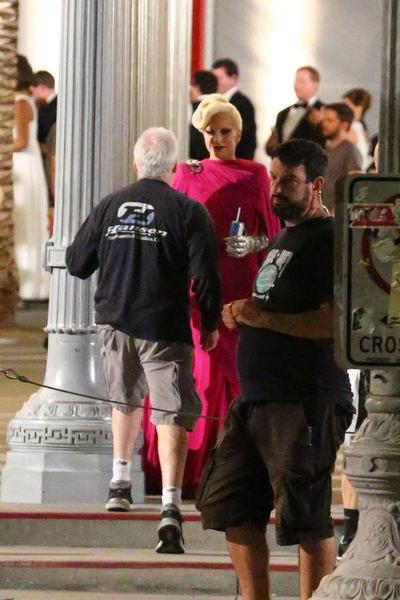 Primera imágenes y vídeo de Lady Gaga en el rodaje de 'American Horror Story: Hotel'