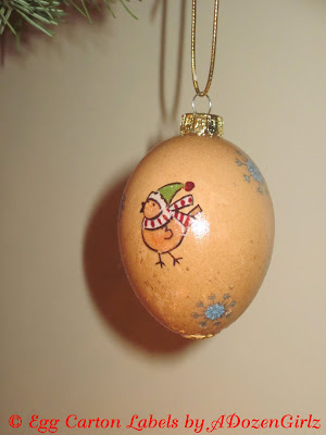 blown, decorated egg