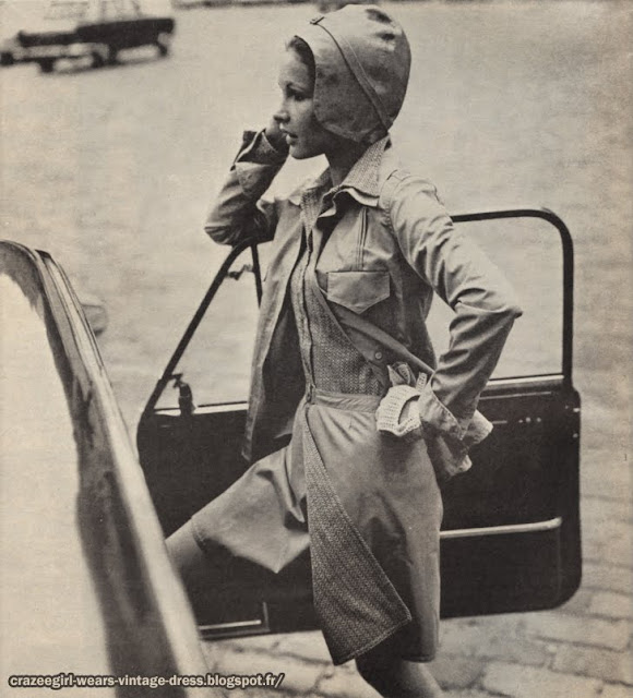 Emmanuelle Khanh shit skirt 1969 60s 1960