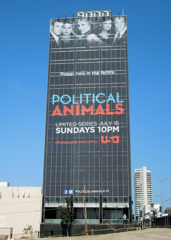Giant Political Animals billboard
