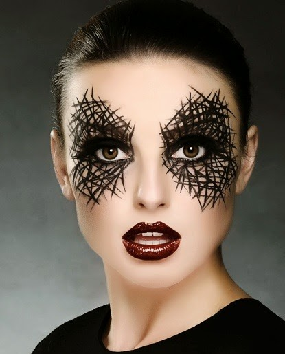 Beautiful Halloween Girls Face Makeup 9 Images Real Real Fun Is Here - Halloween-face-makeup