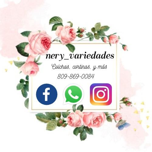 NERY VARIEDADES, Ventas de Colchas, Cortinas y mas Tel: (809) 868-0084