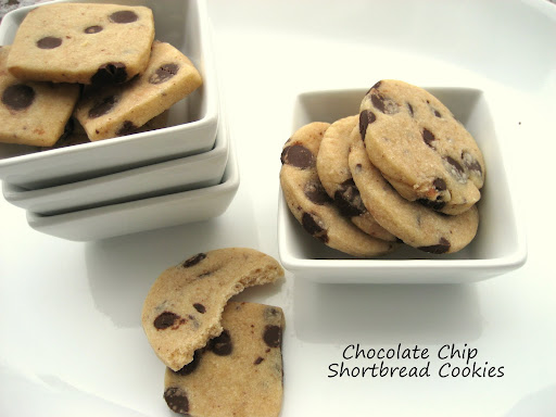 chocolate chip shortbread cookies or banana chocolate chip sandwiches ...