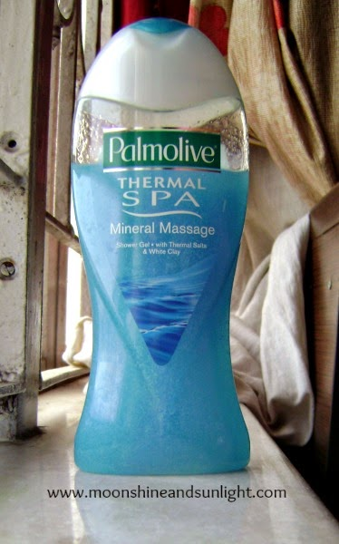 Palmolive Thermal spa mineral massage body wash review