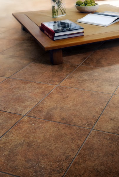 Tile is the perfect choice for basement flooring.