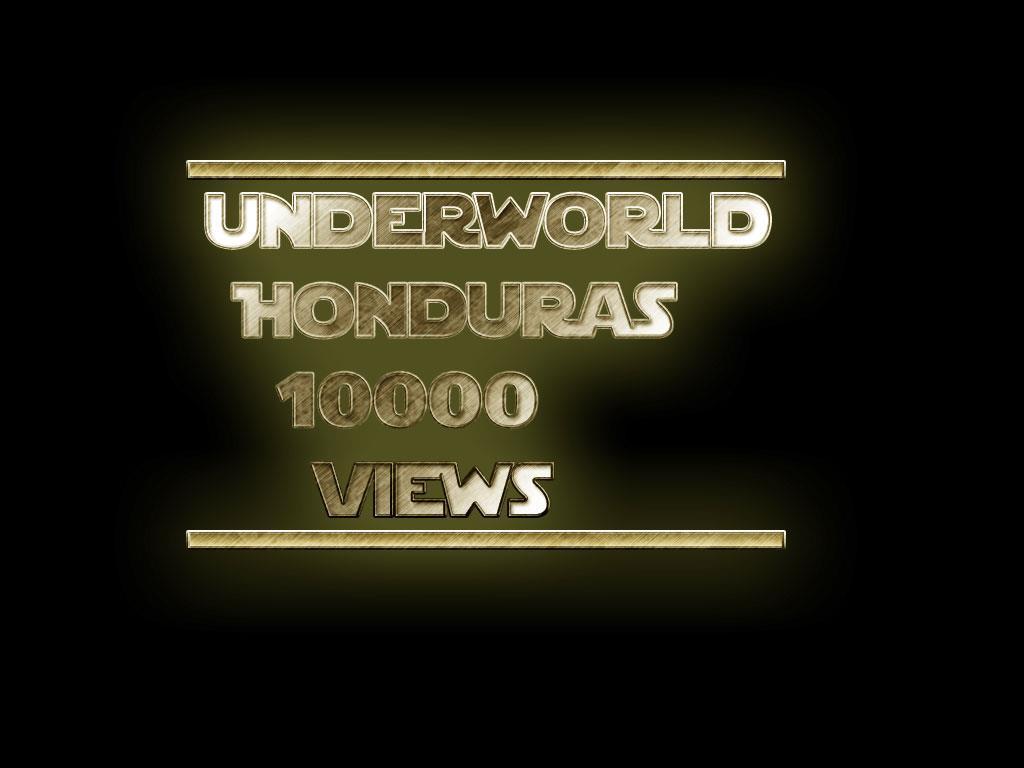 UNDERWORLD HONDURAS: November 2011