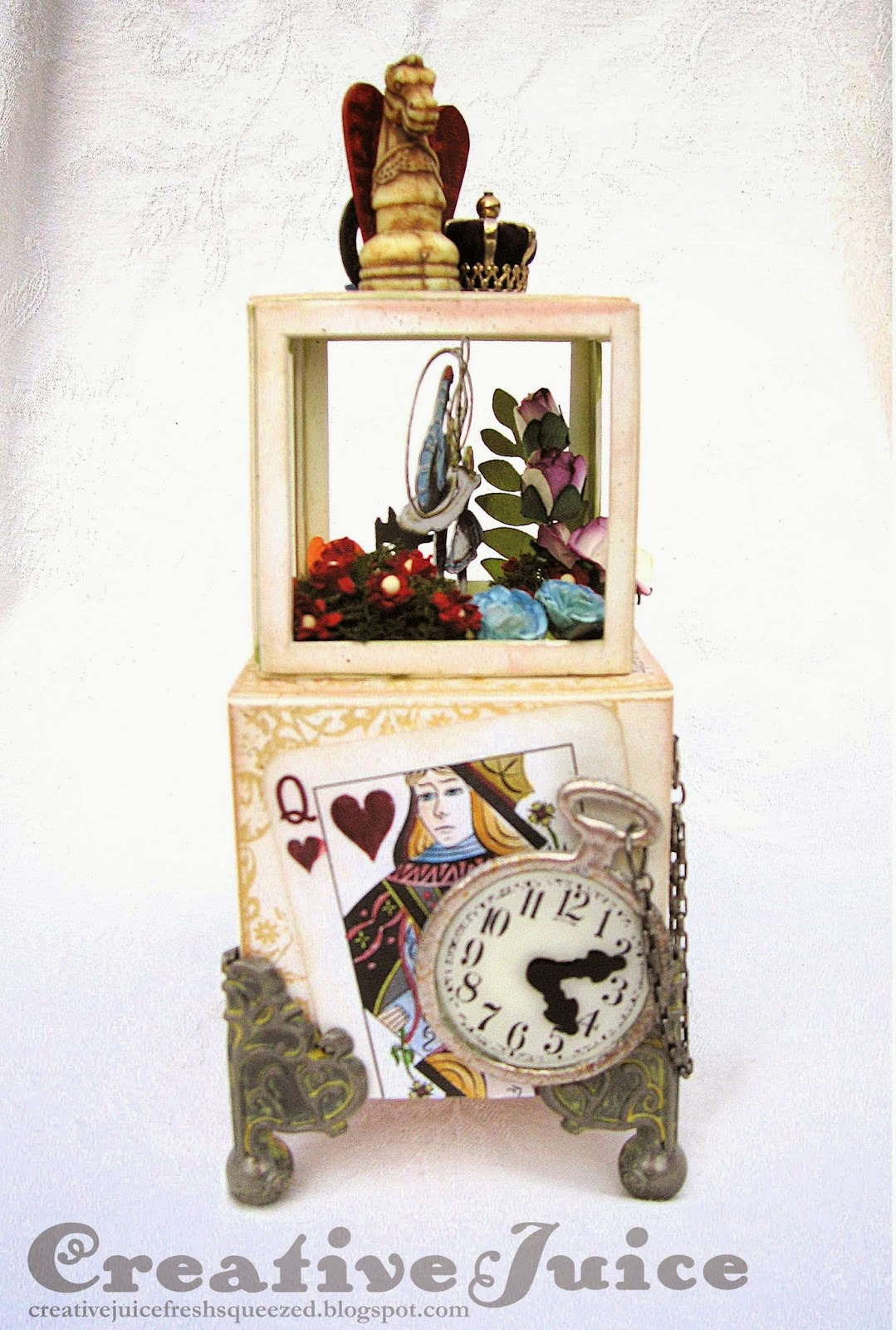 Lisa Hoel - Artistic Outpost Alice in Wonderland Collage ATB