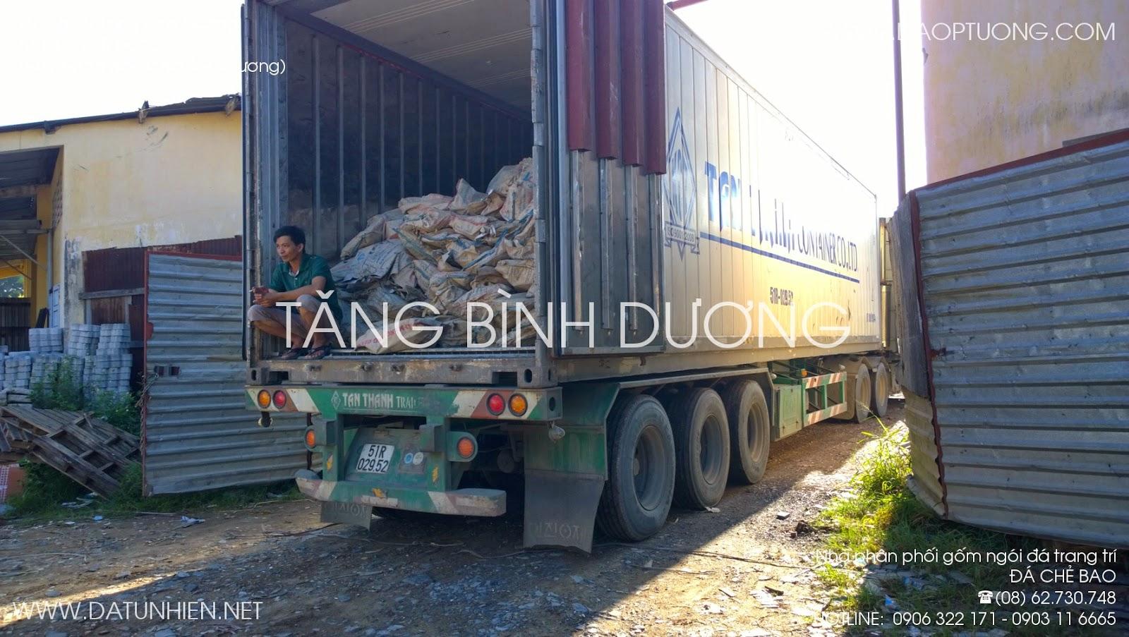 Container đá bao Tân Thanh