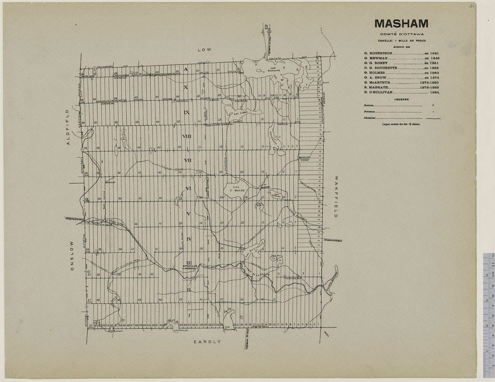 Map of Masham, county of Ottawa