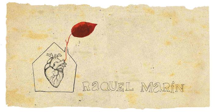 RAQUEL MARÍN - cuadernos de bocetos