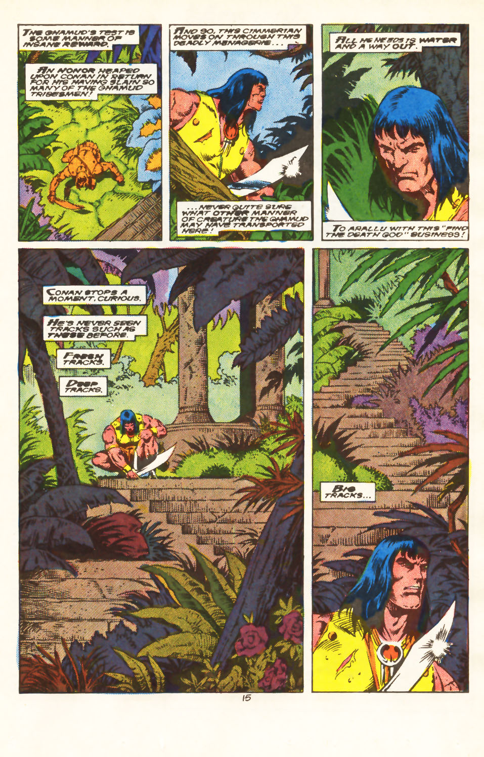 Conan the Barbarian (1970) Issue #213 #225 - English 13
