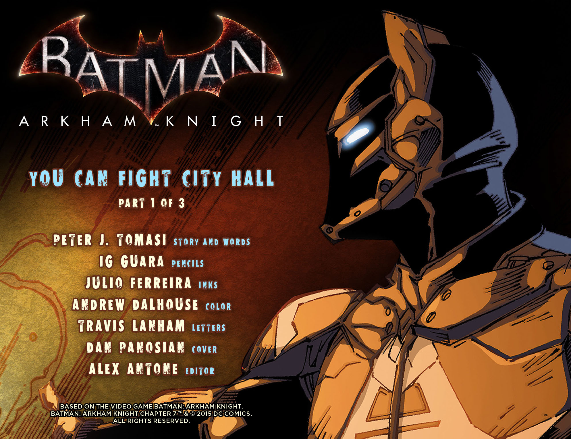 Batman: Arkham Knight [I] Issue #7 #9 - English 2