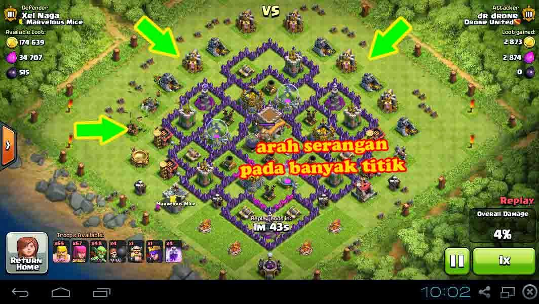 Tips Mencari Resource Dalam Game Clash Of Clans