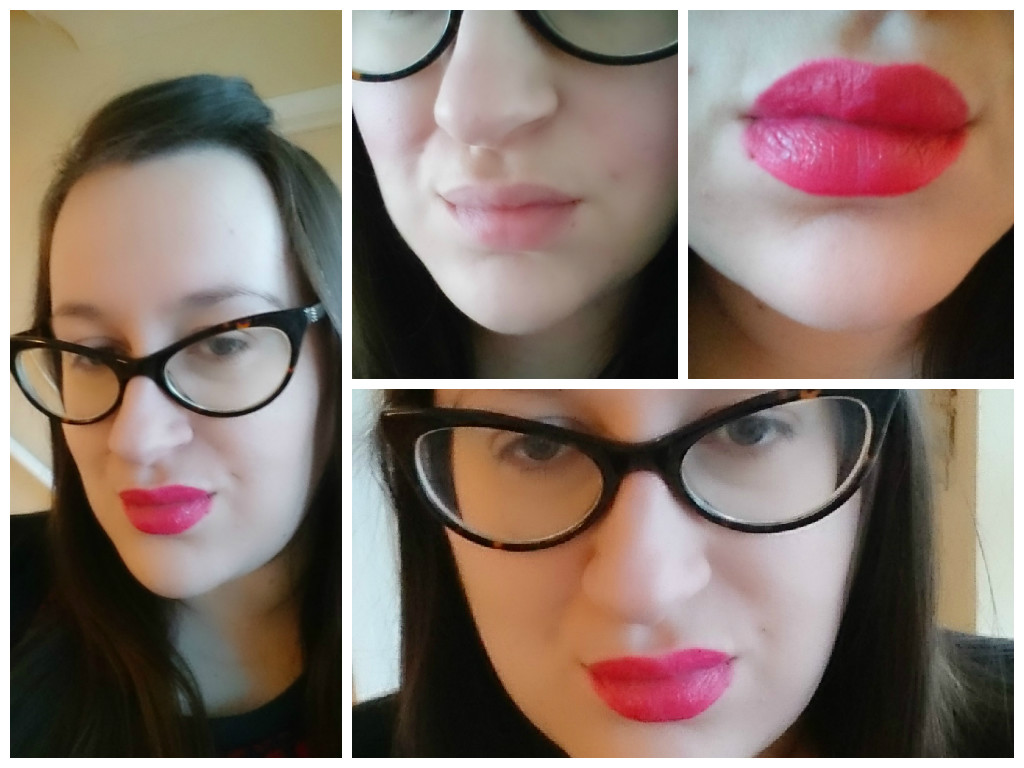MAC viva glam Miley Cyrus swatches