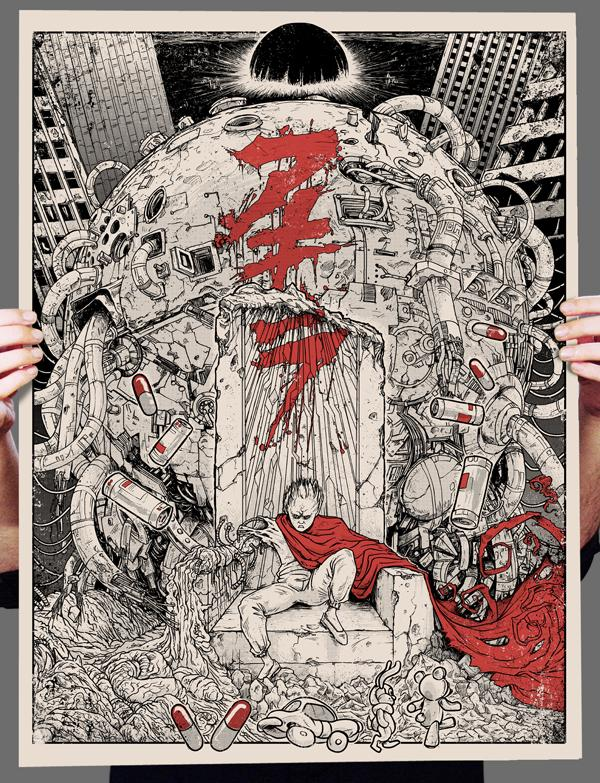 Inside The Rock Poster Frame Blog Godmachine Tetsuo Wins