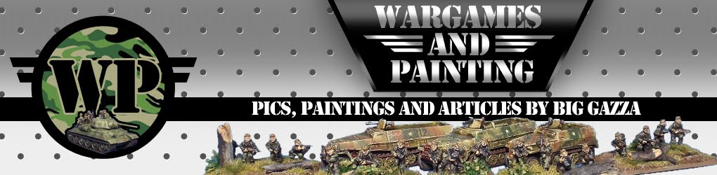 Wargames and Painting Blog