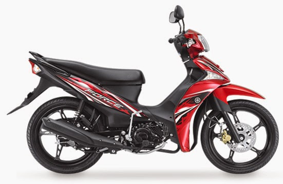 Yamaha Force 115 Red