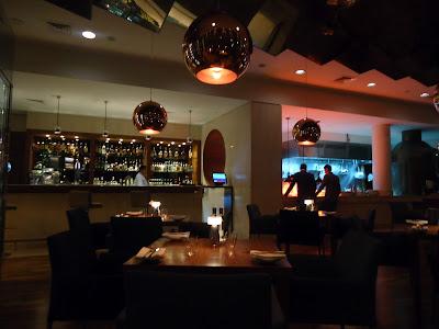 Inside Filini Restaurant, Radisson Blu Hotel, Yas Island Abu Dhabi