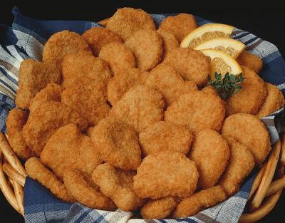 Nugget de pollo casero