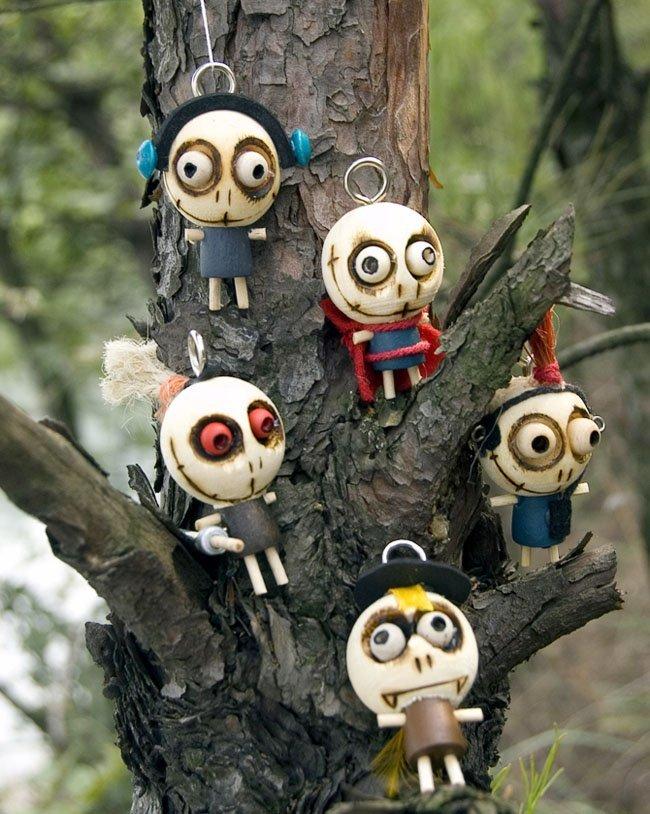 Bamboline bambole bomboniere artigianali forest ghost - Prenatal porta di roma ...