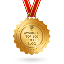 Connie's Spot© Awarded the Feed Spot Top 100 Crochet Blog Award!!