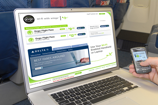 Delta vuela con Wi-Fi