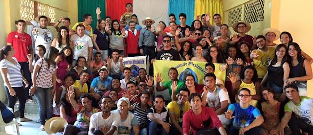 Juventude Missionária do Ceará realiza formação sobre Espiritualidade Missionária