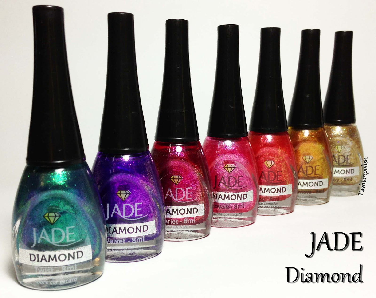 Fashion Polish: Jade Diamond Collection Review