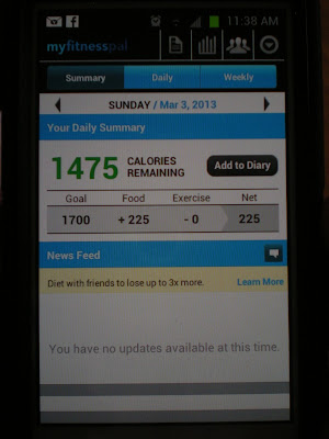 MyFitnessPal calorie tracking app