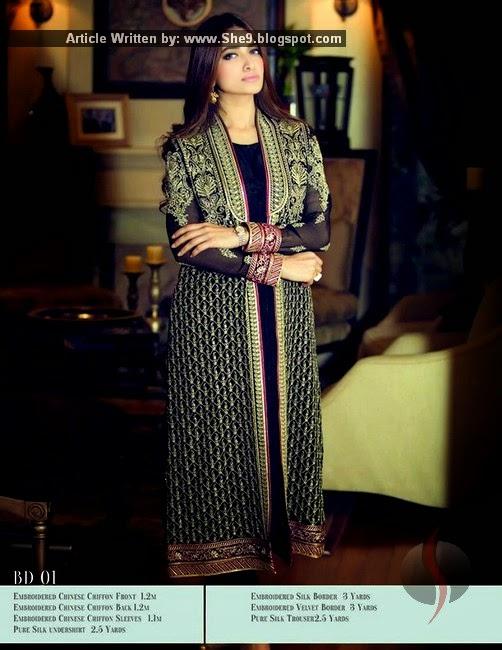 Maria B Mbroidered Designer 2015