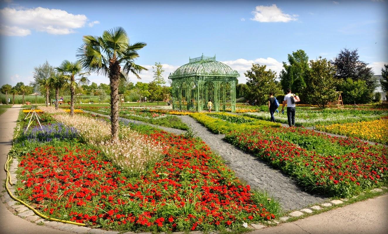 Vienna Blumengärten; Vienna blog