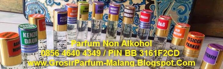 parfum non alkohol, parfum roll on, grosir parfum malang