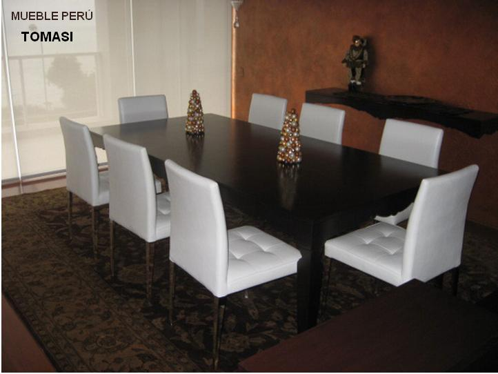 Comedores muebles per comedores y mesas de acero for Parque industrial villa el salvador muebles