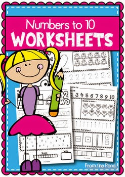 http://www.teacherspayteachers.com/Product/Number-Worksheets-Writing-and-Number-Concepts-1-10-151876