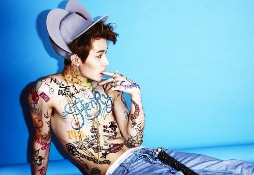 Henry Super Junior Siap Rilis Album Solo 'Trap'